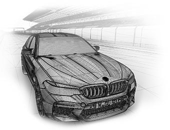BMW M5 xDrive Making Of Effekt-Etage