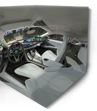BMW i Samsung VR Effekt-Etage