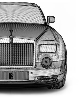 Rolls Royce Phantom App Effekt-Etage