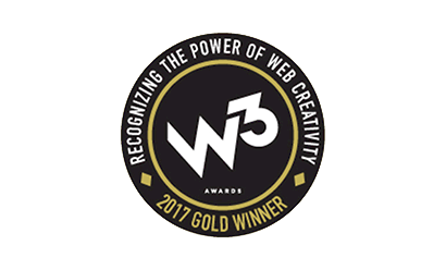 W3 Awards 2017 Winner