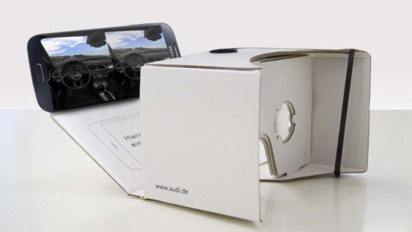 Effekt-Etage Audi Virtuell Reality