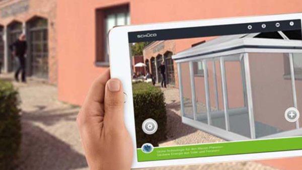 Effekt-Etage Schueco augmented reality